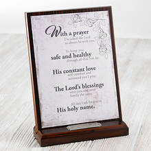 Personalized Prayer Plaque