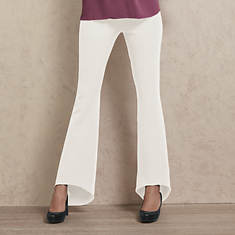 High-Low Pull-On Pant