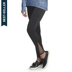 Mesh-Paneled Legging