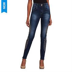 Bling-Embellished Jean