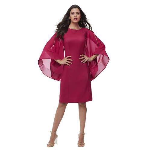 Chiffon Sleeve Dress