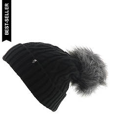 The North Face Women's Oh-Mega Fur Pom Beanie