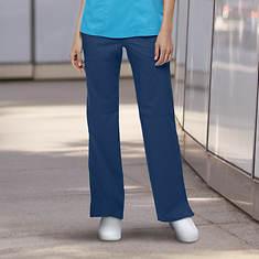 Cherokee Women's Mid-Rise Cargo Scrub Pants