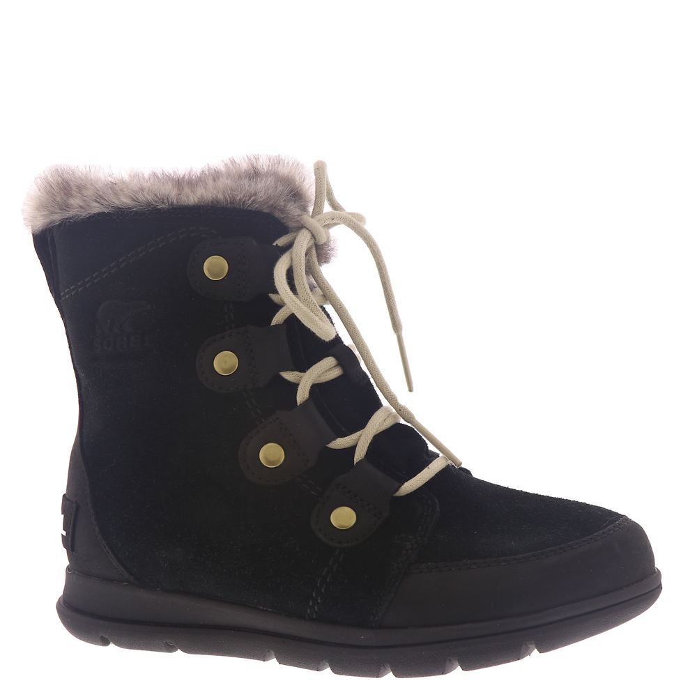 Vintage Winter Retro Boots – Snow, Rain, Cold Sorel Explorer Joan Womens Black Boot 11 M $99.99 AT vintagedancer.com
