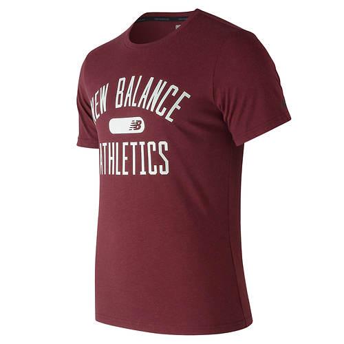 New Balance Men's Athletics Heathertech Tee