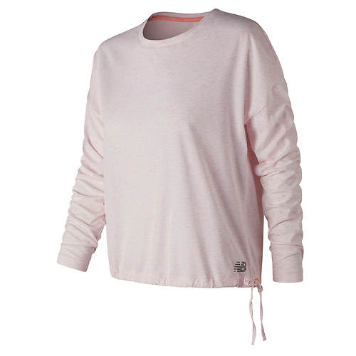 New Balance Women's Heathertech Long-Sleeved T-Shirt