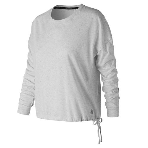 New Balance Women's Heathertech Longsleeve T-Shirt