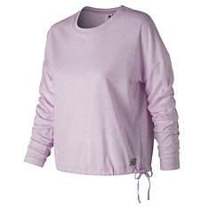 New Balance Women's Heathertech Long-Sleeved T-Shirt