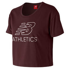 New Balance Women's Athletics Cropped Tee