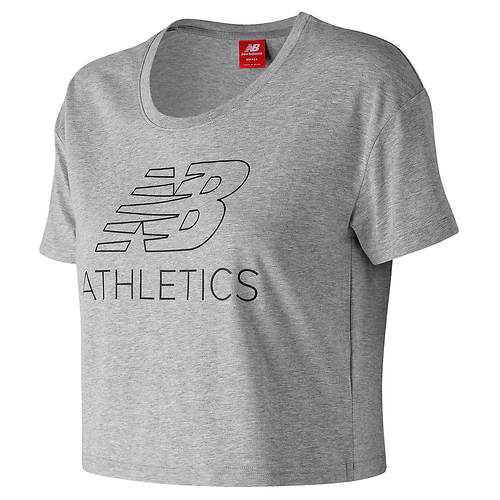 New Balance Women's Athletics Cropped Tee