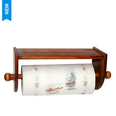 Pine Wall Paper Towel Holder