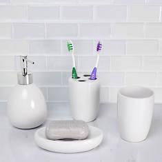 4-Piece Bath Accessory Set
