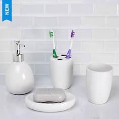 4-Piece Bath Accessory Set