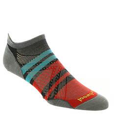 Smartwool Men's PhD Run Ultra Light Pattern Micro Socks