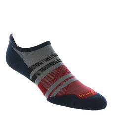 Smartwool Men's PhD Run Light Elite Pattern Micro Socks