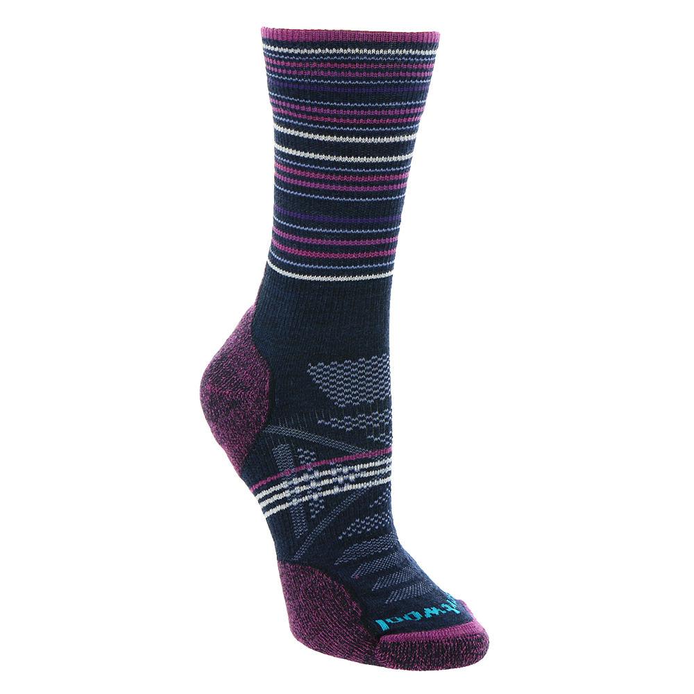 1eb1840b3 Details about Smartwool Women's PhD Outdoor Light Pattern Mid-Crew Socks