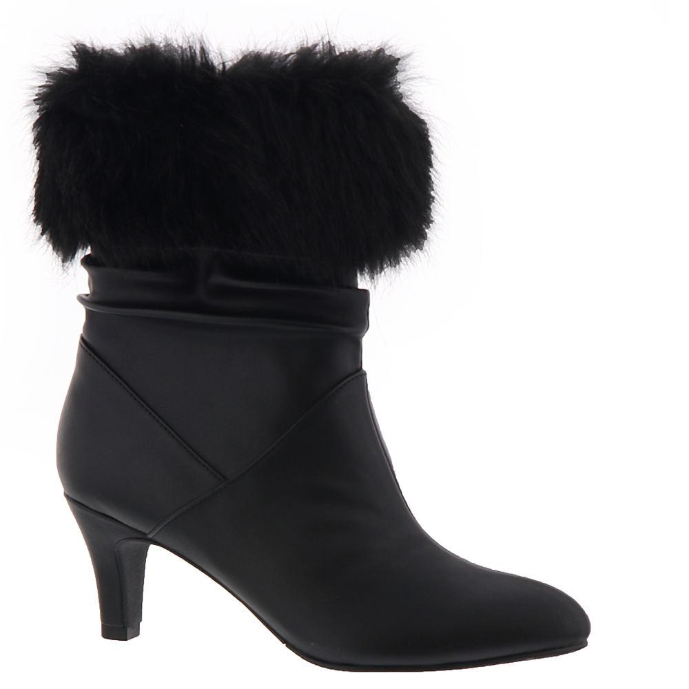 1950s Style Shoes | Heels, Flats, Saddle Shoes ARRAY Ellen Womens Black Boot 11 M $79.95 AT vintagedancer.com