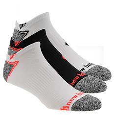 New Balance N442-3 Run No Show 3-Pack Socks