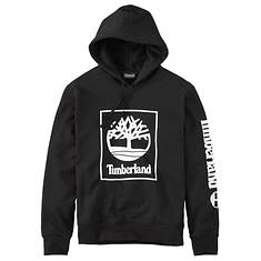 Timberland Men's Logo Hoodie Sweatshirt