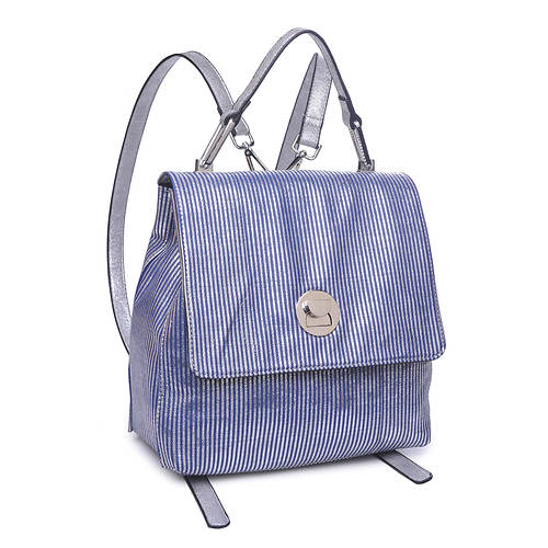 Moda Luxe Antoinette Stripe Backpack