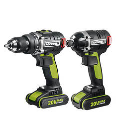 Rockwell 2-Piece 20V Drill and Impact Driver Kit