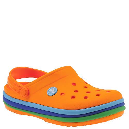 Crocs™ Crocband Rainbow Band Clog (Boys' Infant-Toddler-Youth)