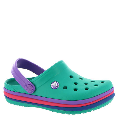 243913ef6104fb Crocs™ Crocband Rainbow Band Clog (Girls  Infant-Toddler-Youth ...