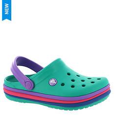 Crocs™ Crocband Rainbow Band Clog (Girls' Infant-Toddler-Youth)
