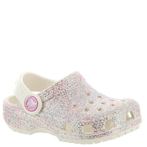Crocs™ Classic  Glitter Clog (Girls' Infant-Toddler-Youth)