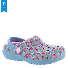 Crocs™ Classic Lined Graphic Clog (Girls' Infant-Toddler-Youth)