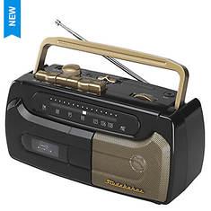 Cassette Player & Recorder with FM Radio