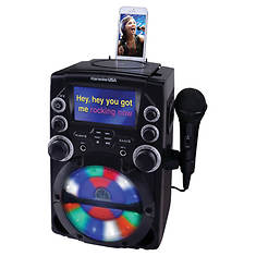 Karaoke USA CD+G Karaoke System with 4.3