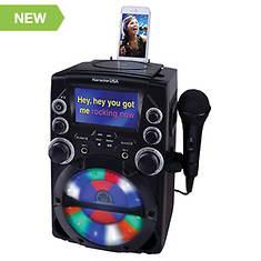 Karaoke USA CD+G Karaoke System with 4.3