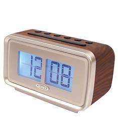 Jensen AM/FM Retro Flip Display Alarm Clock