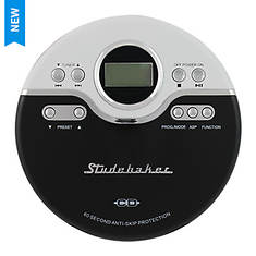 Jogging CD Player with FM PLL Radio