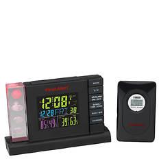 First Alert RC Weather Station Alarm Clock