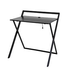 Folding Desk with Dual USB Charger