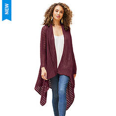 Eyelet Sweater Cardigan