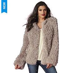 Faux Fur Shag Coat