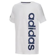adidas Boys' Linear Logo Tee