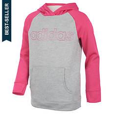 adidas Girls' Color Block Hooded Sweatshirt