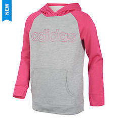 adidas Girls' Color Block Hooded Sweatshirt
