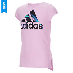 adidas Girls' SS Train to Win Tee