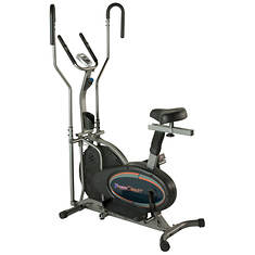 Fitness Reality 2-in-1 Elliptical and Exercise Bike