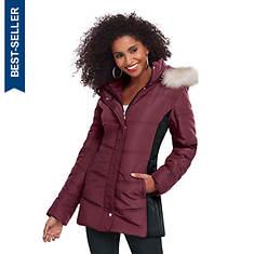 Women's Colorblock Puffer Jacket