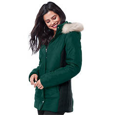 Women's Colorblock Puffer Jacket