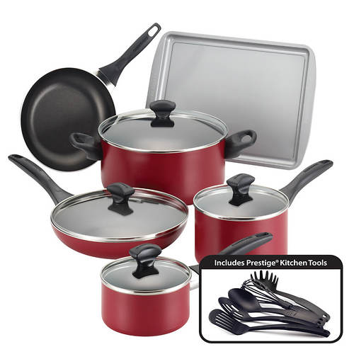 Farberware 15-Piece Non-Stick Cookware Set