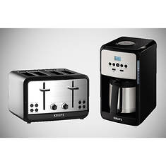 Krups Savoy Coffee Maker and Toaster