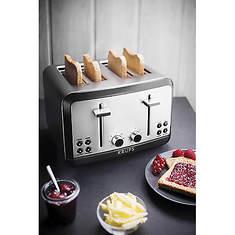 Krups Stainless Steel 4-Slice Toaster
