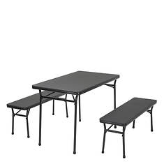 Cosco 3-Piece Tailgate Set with Table & Benches